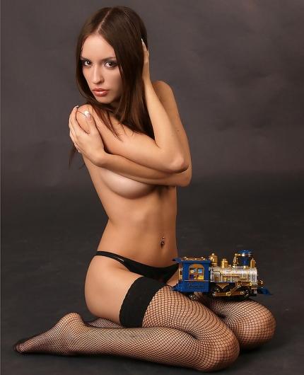 Katia black stockings