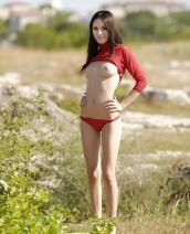 Nika In Red