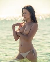 Serena Wood Shimmering Sensation By Playboy